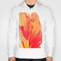 hibiscus Hoodies featuring Hibiscus by Lindzey42