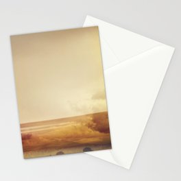 Modern Abstract Photography, Desert Landscape Stationery Cards