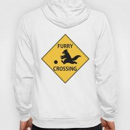 Furry crossing Hoody
