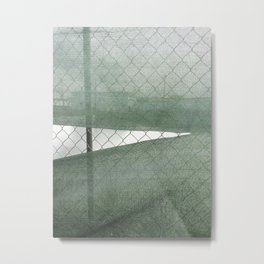 Fence Study I Metal Print