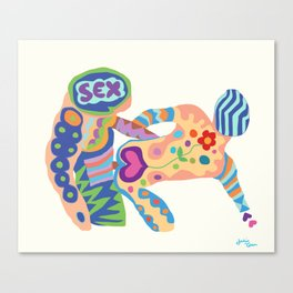 SEX Canvas Print