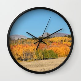 Autumn in Fairplay  Wall Clock