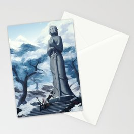 Frozen in time Stationery Cards