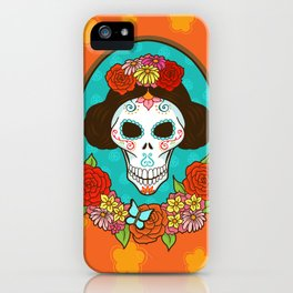 Day of the Dead Beauty iPhone Case