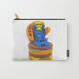 Big Burger Robot Carry-All Pouch