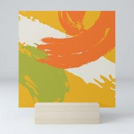 Colorful Brush Strokes AP176-11 Mini Art Print