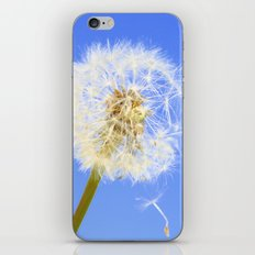 Wishing Flower iPhone & iPod Skin