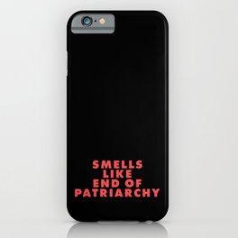 Feminism Matriarchy Radical Feminist Badgirl iPhone Case