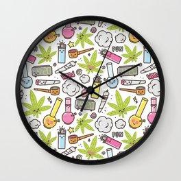 Weed Mania Wall Clock