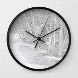 Pondside Thaw Wall Clock