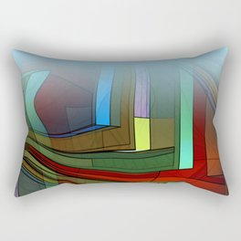 colormix -2- curtain and more Rectangular Pillow