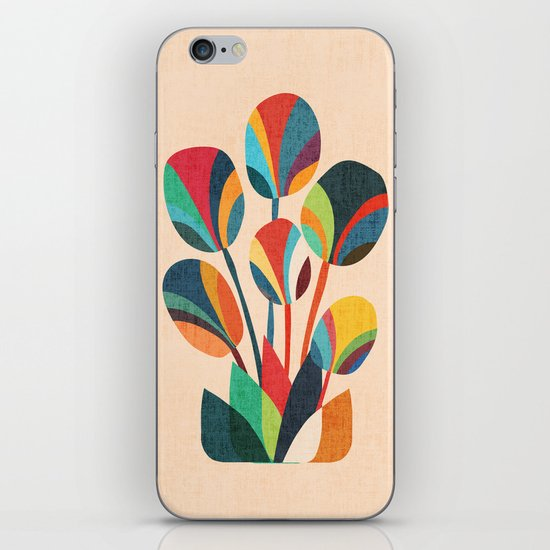 Ikebana - Geometric flower iPhone Skin