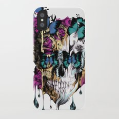 Flomo Butterfly Skull iPhone X Slim Case