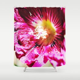 Musk Mallow Shower Curtain
