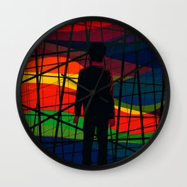 Imprisoned Mind Wall Clock