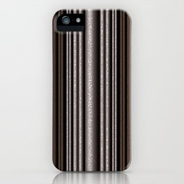 Hammered Metal/Rust iPhone Case