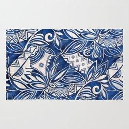 Hawaiian tribal pattern II Rug