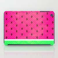watermelon iPad Cases featuring Watermelon by M Studio