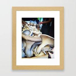 Capitol Hill Market Shrooms Framed Art Print