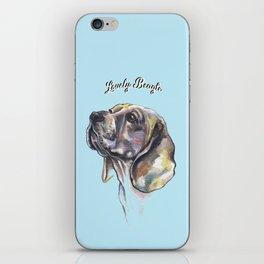 Lovely Beagle - by Fanitsa Petrou. iPhone Skin