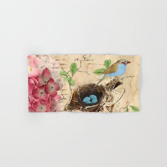 Vintage flower #15 Hand & Bath Towel