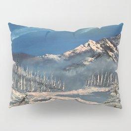 Ice Fields - winter day Pillow Sham