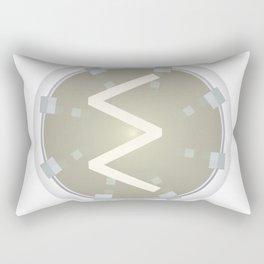 Victory Sun Sigel Rune Rectangular Pillow