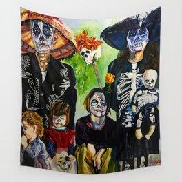 Las Tias Locitas ( The Crazy Aunties) Wall Tapestry