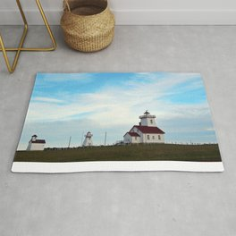 Wood Islands Lighthouse Compound Rug