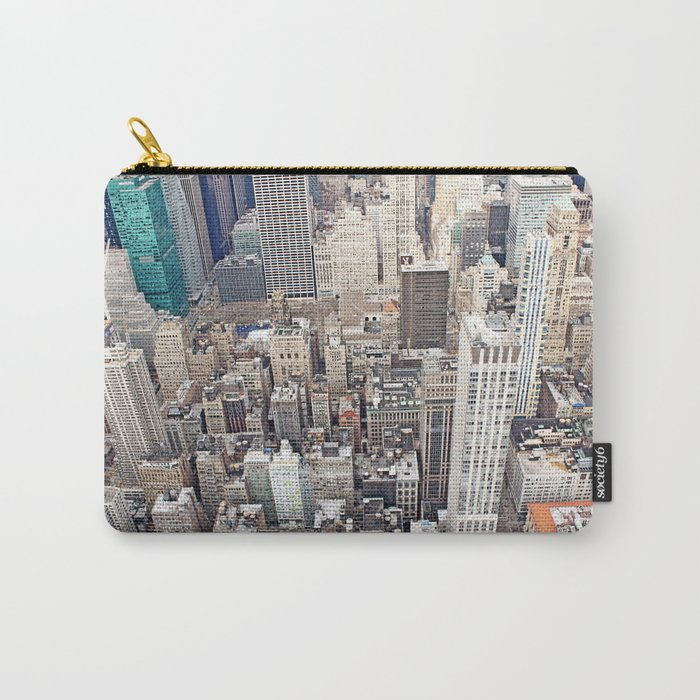 New York City color Carry-All Pouch