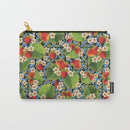 Strawberry Heraldic Carry-All Pouch