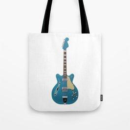 Hollow Body Guitar Tote Bag
