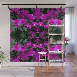 AWESOME AMETHYST PURPLE BOUGAINVILLEA VINES Wall Mural