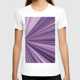 lilac stripes T-shirt