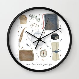 House of the Wise Wall Clock