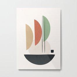 Minimal Shapes No.59 Metal Print