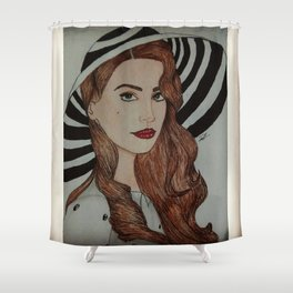 LDR Shower Curtain