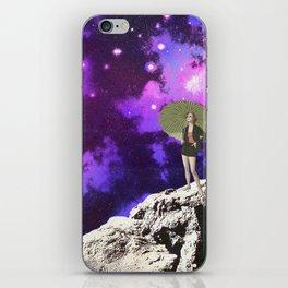 Lady in Space II iPhone Skin