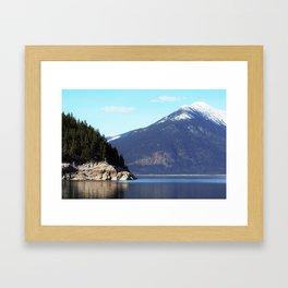 Back Country Framed Art Print