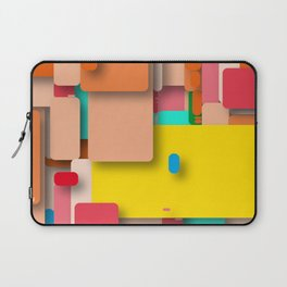 rounded rectangles Laptop Sleeve