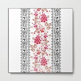 Red flowers . Metal Print