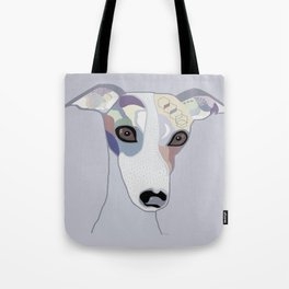Whippet in Denim Colors Tote Bag