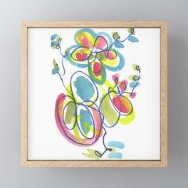 Entwining Vines Framed Mini Art Print