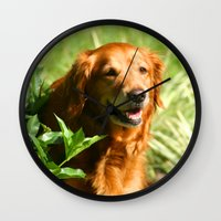 sassy Wall Clocks featuring Lady Sassy by Tami Cudahy