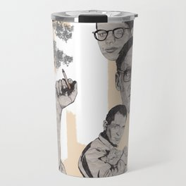Burroughs, Ginsberg and Kerouac Travel Mug
