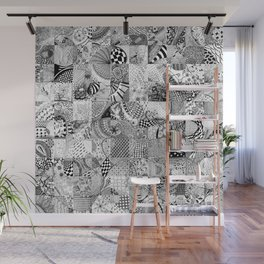 Doodling Together #6 Wall Mural