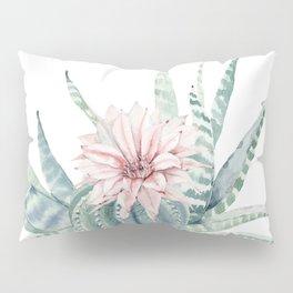 Petite Cactus Echeveria Pillow Sham