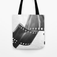 film Tote Bags featuring Film by Taylor Murray
