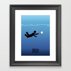 Nirvana's Nevermind: 20 years after Framed Art Print