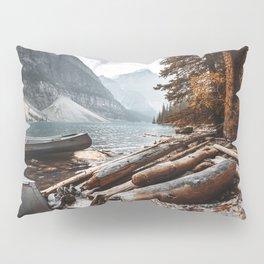 Moraine Lake at banff Pillow Sham